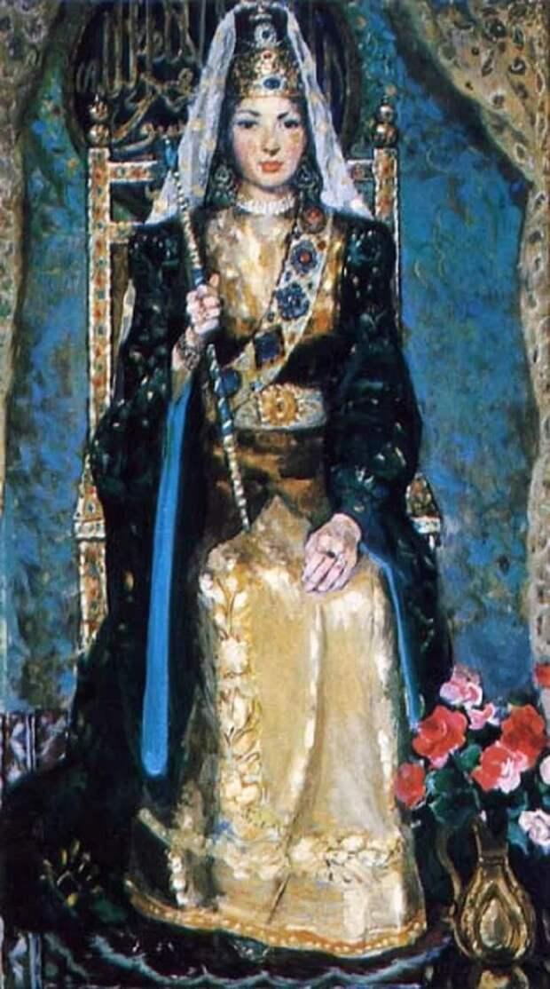 Женщина на ханском троне