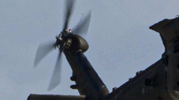 SANA сообщило о крушении вертолёта США в Сирии