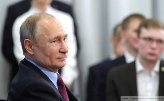 Путин положительно оценил идею создания российского суда по правам человека