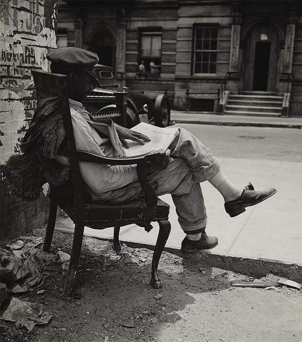 Старый Нью-Йорк. Фотограф John Albok.