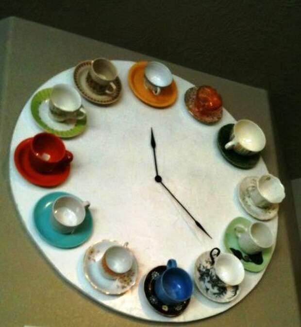 Время пить чай! Часы своими руками