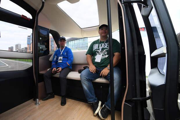 В России появились беспилотные электробусы (ФОТО)