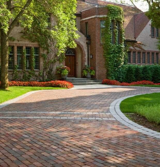 Тротуарная плитка - брусчатка из натурального камня