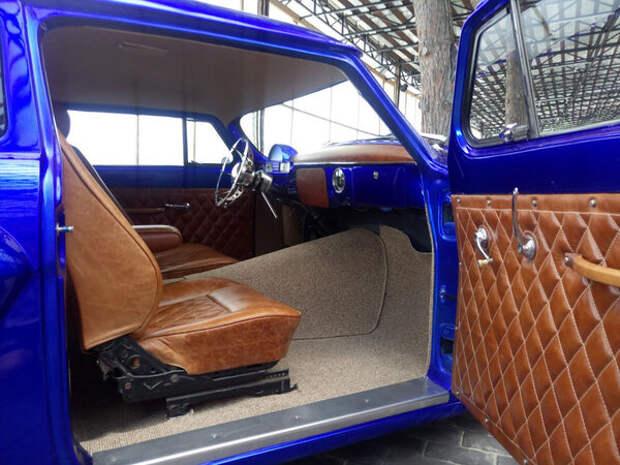 Невероятно красивое купе из Волги ГАЗ-21
