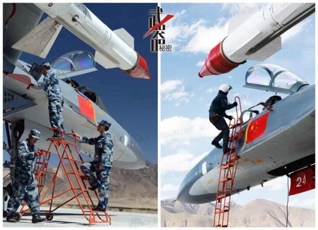 Развитие самолетов на базе Су-27 в Китае