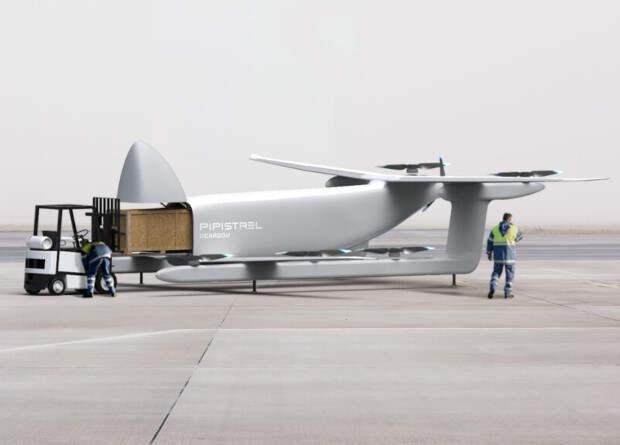 Словенцы представили проект грузового беспилотника