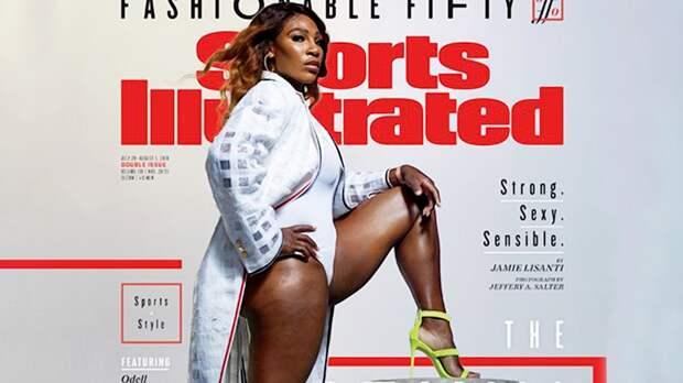 Серену Уильямс признали самой стильной спортсменкой года. Болельщики сравнили еесГодзиллой