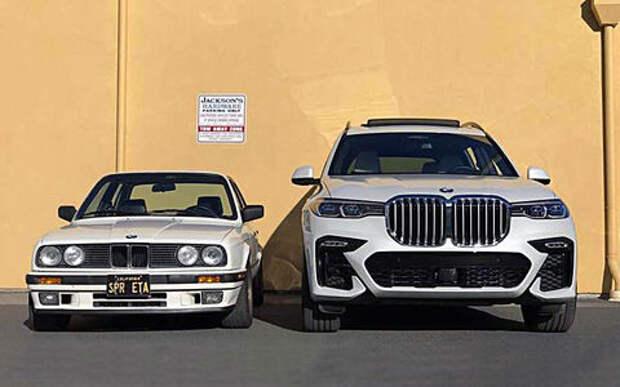 35 лет эволюции «ноздрей»: как увеличивались решетки радиатора BMW
