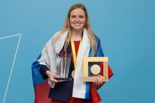 Главный приз мирового чемпионата WorldSkills 2019 в Казани получила участница из России