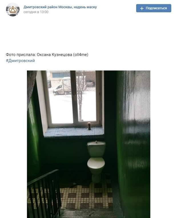 Фото дня: «царский трон» появился в одной из многоэтажек Дмитровского