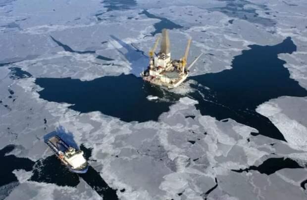 Шельф Арктики Россия