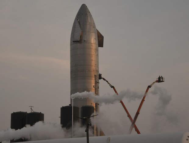 В ходе испытаний в Техасе взорвался прототип корабля Starship
