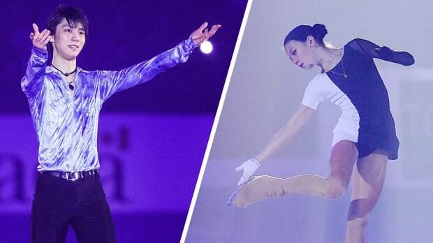 Баттл Трусовой иХаню, Тарасова иМорозов косплеили героев «Гарри Поттера»: шоу-номера Skate Canada