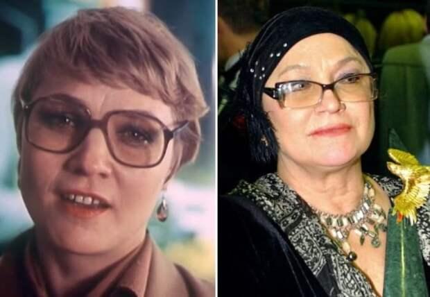 Нина Русланова тогда и сейчас | Фото: kino-teatr.ru