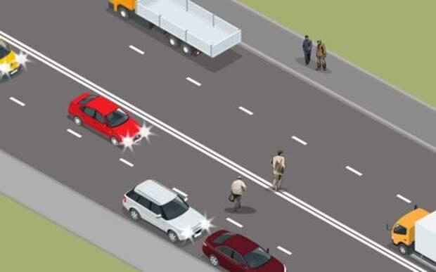 Напугать пешехода или подставить корму под удар - тест на опыт