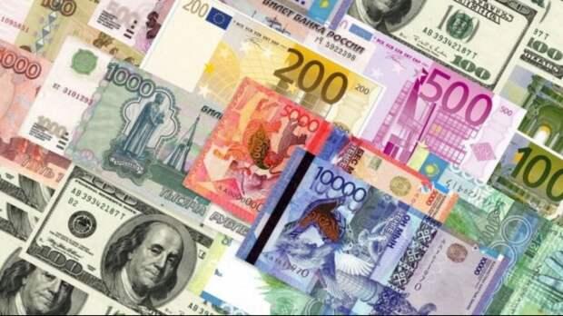 Официальные рыночные курсы валют на 7 апреля установил Нацбанк Казахстана