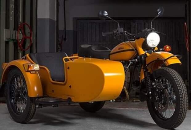 Новый мотоцикл Ural привел американцев в восторг