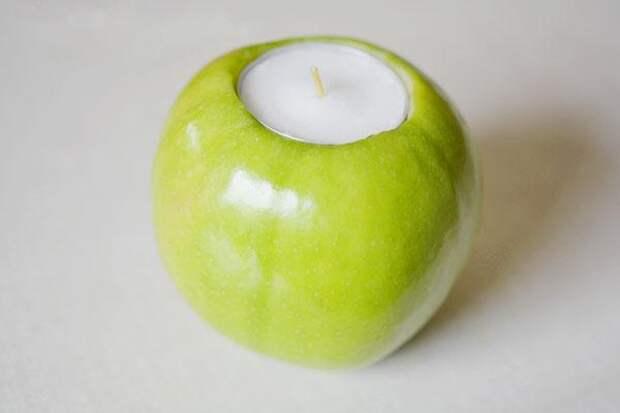 Яблочная свеча
