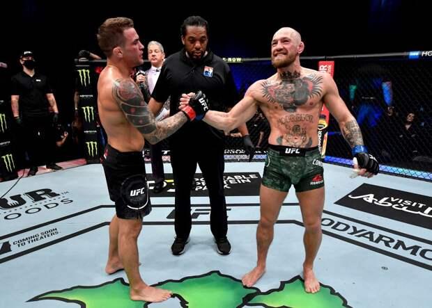 Жена Порье поблагодарила Конора в раздевалке после поражения от американца на UFC 257: видео