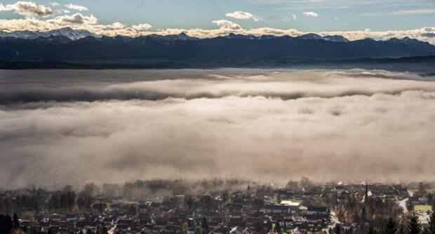 Туман над Альпами