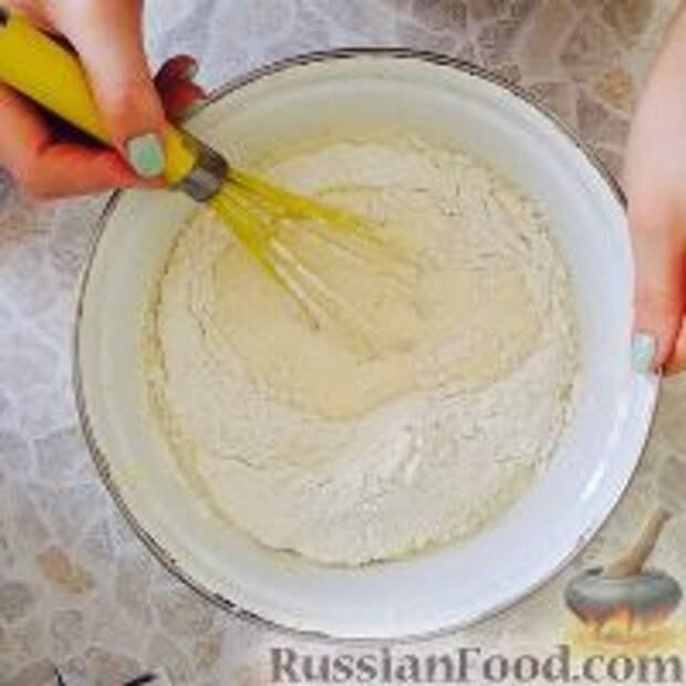 """Фото приготовления рецепта: Кефирный торт """"Деревенский"""" - шаг №5"""