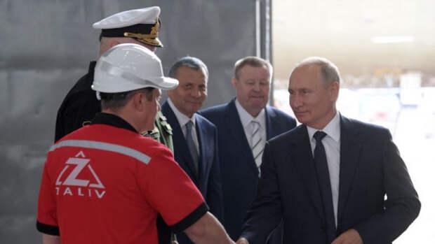 Владимир Путин рассказал о мерах поддержки судостроительной отрасли
