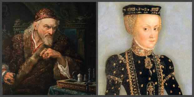 Царь Иван, польская принцесса Катерина Ягеллонка