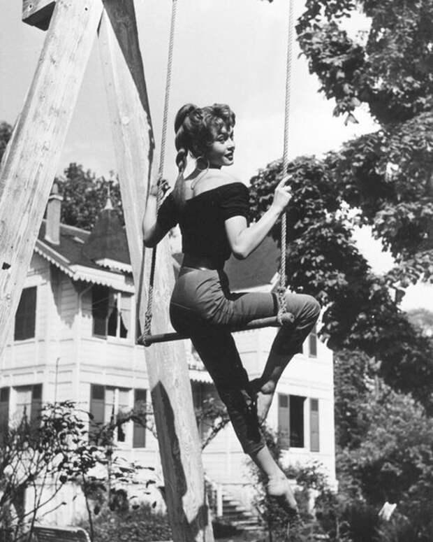 Бриджит Бардо 1950