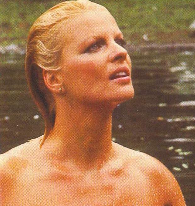 Красотка из 70-ых Гизела Хан