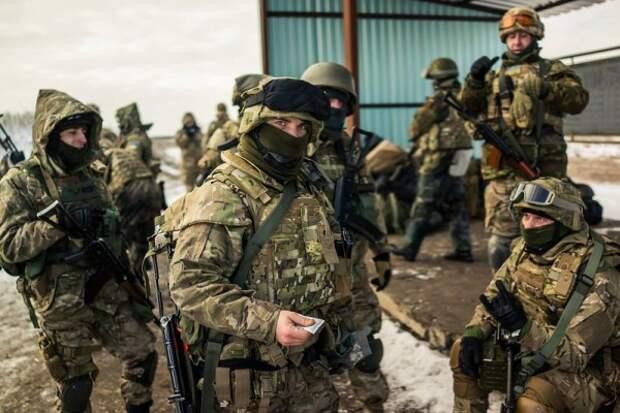 Украинский 3-й отдельный полк спецназа ГУР МО на тренировке