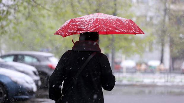 В Москве 21 апреля ожидается дождь