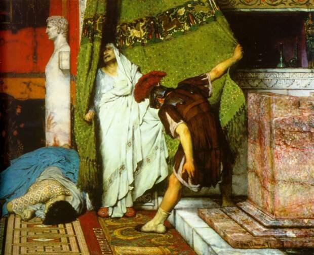 Смерть Калигулы и начало правления Клавдия