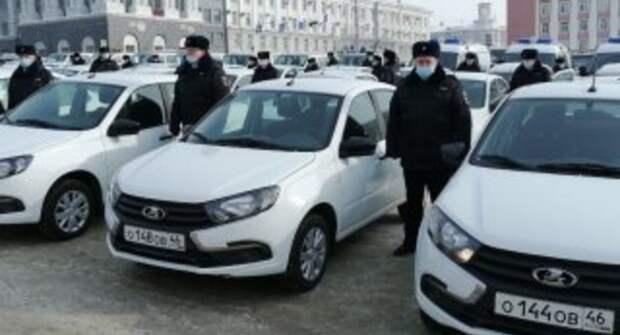 В Курске вручили 129 новых автомобилей сотрудникам УМВД