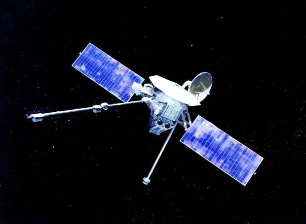 Маринер-10 — первый космический аппарат пролетевший мимо Меркурия