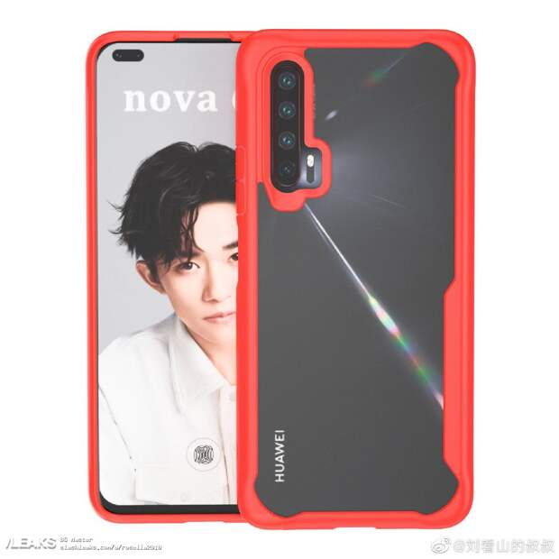 Раскрыт дизайн смартфона Huawei Nova 6
