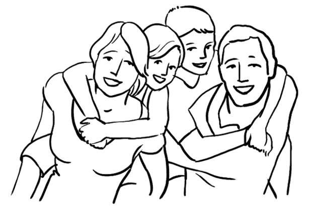 Семейная фотография - как правильно фотографировать