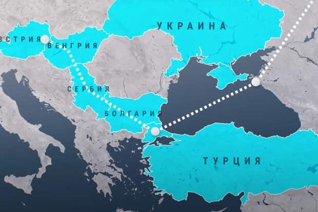 Сербия и Венгрия достроили «Турецкий поток» в обход Украины