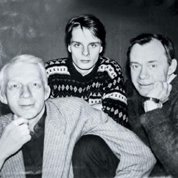 Владимир Носик с племянником Александром и братом Валерием