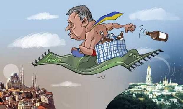 Лети, Порошенко, лети, или Почему посадки не будет