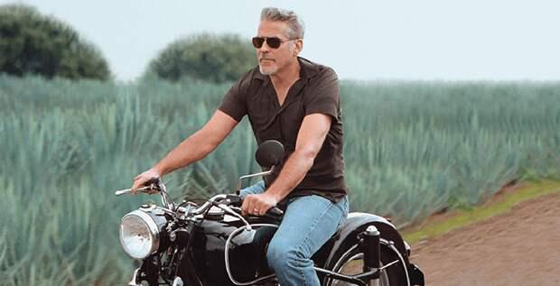Амаль Клуни запретила мужу водить мотоцикл