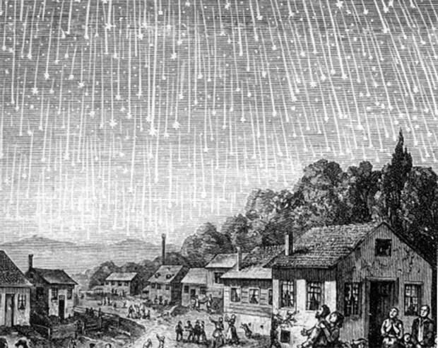 Пыль кометных дорог Рассказываем, откуда берутся метеорные потоки