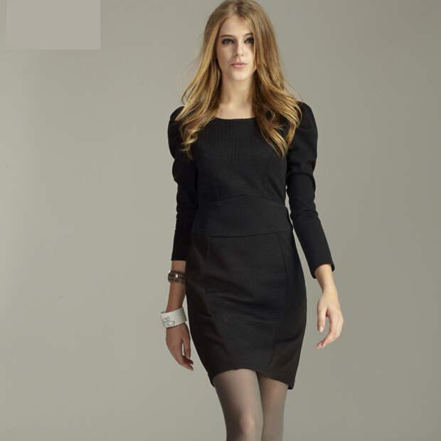 Наследие от Коко: самые модные черных платья 2020 году