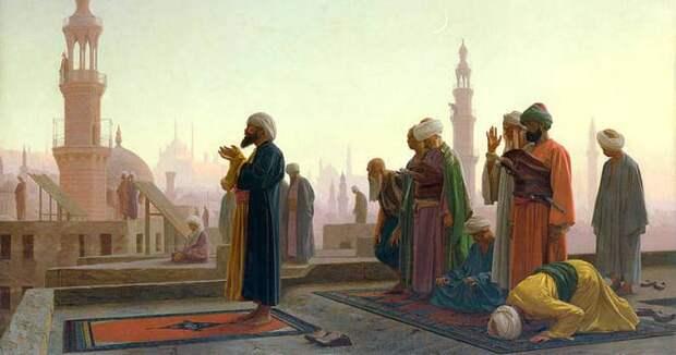 Зачем мусульмане используют молитвенный коврик для намаза