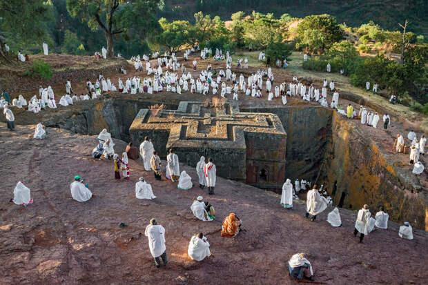 Древние церкви Эфиопии 3