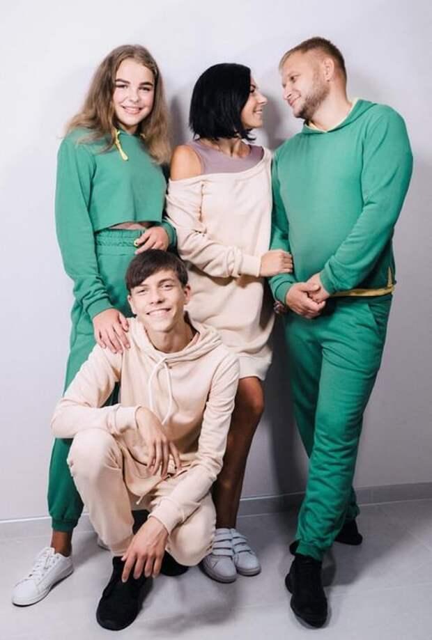 Family look — стиль, который объединяет семью. Молодой бренд galitskaya family look