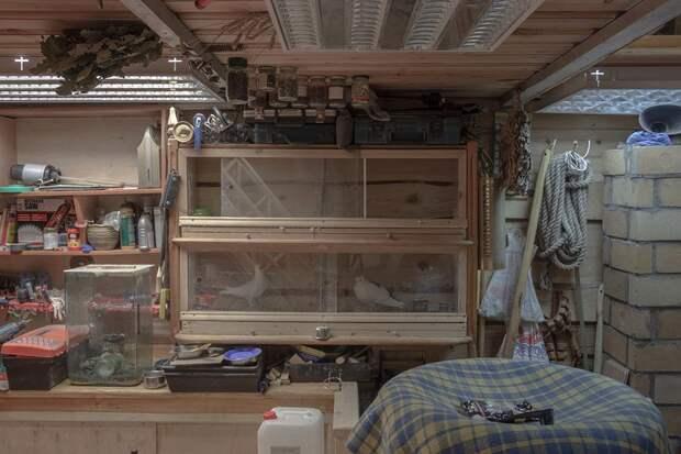 Личное пространство мечты в гаражных кооперативах