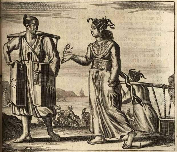 Япония глазами европейцев на гравюрах - 1670 год (11)