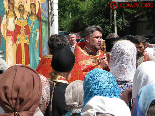 Молебен в 150-й День рождения царя Николая 19 мая 2018 года