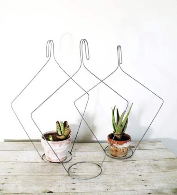 Такое обрамление привлечет внимание даже к самым простым комнатным растениям. /Фото: nhadep-nblog.com