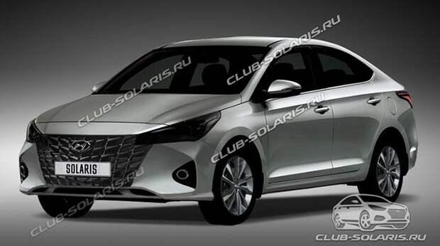 Это новый Hyundai Solaris для России